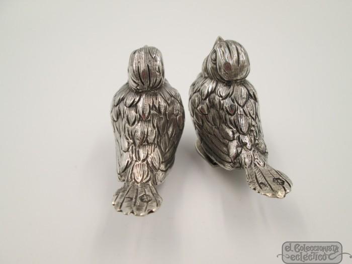 Salt /& Pepper Shakers Birds African Grey